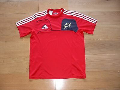 Adidas Munster Home Rugby Shirt/top/jersey/child 13-14 years