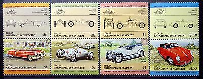 Grenadines of St Vincent Bequia 1984 cars MNH