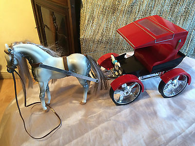 Bratz Horse And Carriage / Cart Toy
