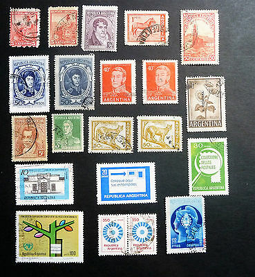 Argentina Collection of Early / Old Stamps lot954