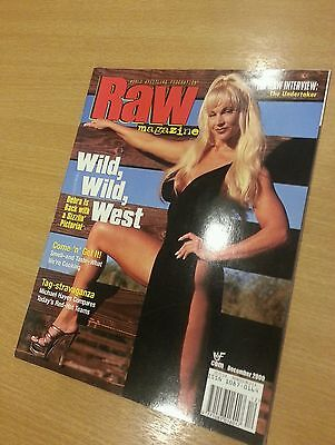 WWF WWE Raw Magazine - Debra Austin - December 2000