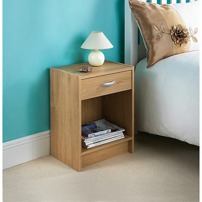 Simple Yet Elegant Copenhagen Bedside Cabinet - Oak
