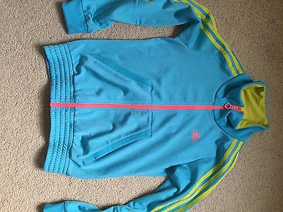 girls adidas tracksuit top Age 11-12