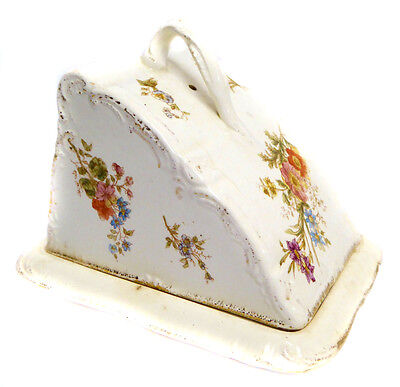 Victorian Cheese Dish Antique Butter Dish Vintage Cheese Dish Kitchen