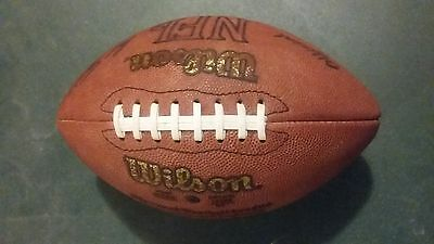 NFL official Wilson leather game football