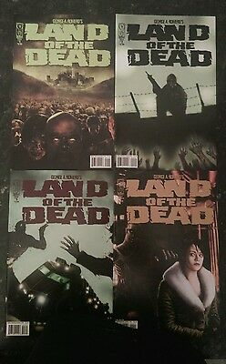 Idw Land Of The Dead #1-4 Complete