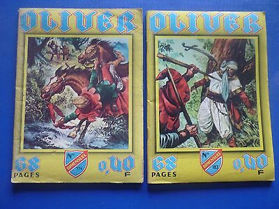 Editions IMPERIA  :   OLIVER  N° 174 & 183   -   BE/TBE