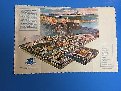 Table place mat from the Seattle World's Fair 1962