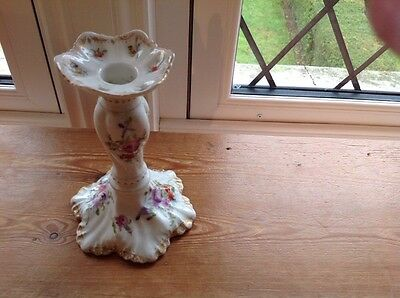 """"""" Limoge"""" Antique Candlestick """" REDUCED PRICE"""""""