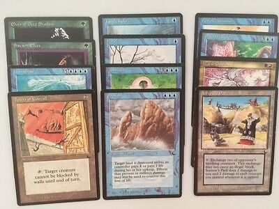 Magic The Gathering Cards MTG Lot of 12 Cards - All From The Dark Edition #6
