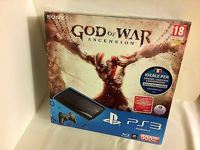 Nuova PlayStation 3 PS3 - Console 500 GB + God Of War: Ascension