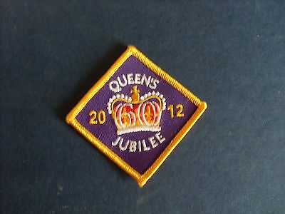 Queens Jubilee 2012, sew on badge / patch