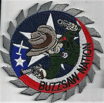 Usaf Columbus Afb 41 Fts Patch         'buzzsaw Nation'                    Color