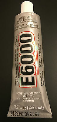 E6000 Glue Industrial Strength for Rhinestones Crystals Jewelry & bead 109.4  ml