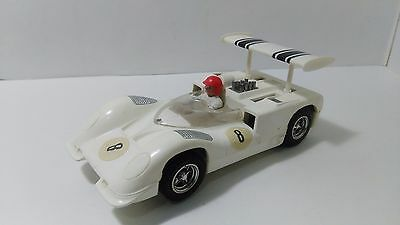 Slot 1:32 Scalextric Exin Triang Chaparral Gt C-40 Made In Spain 1968 White