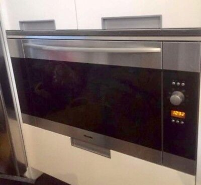 Miele ESW6214 PureLine Built-in Warming Drawer 14cm Brown Glass RRP £929