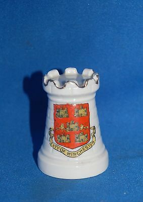 "Crested Ware Arcadian china ""Winchester"" castle"