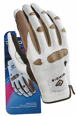 Bionic Golf Glove - Ladies Right Hand Stable Grip - Truffle - Size: MED/LARGE