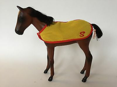 Vintage 1980s Sindy Foal With Blanket. Pedigree. Horse.