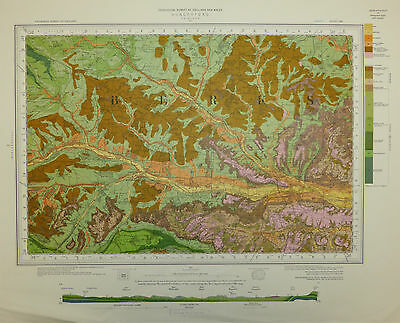 Berkshire map, Hungerford, Geological Survey map, First Surveyed 1872