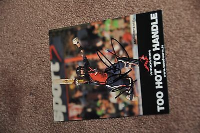 Kevin Pietersen - Cricket - Hand Signed Photo/autoograph