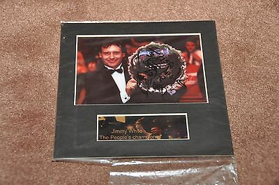 Jimmy White - Snooker - Signed Photo