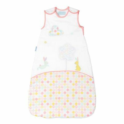 Grobag Blossom Bunny Baby Sleeping Bag Girls Pink / White 2.5 tog 0-6 Months New