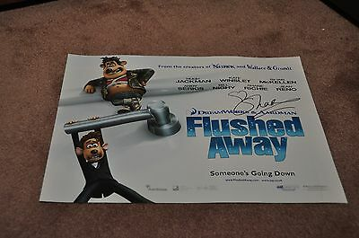 Shane Ritchie Hand Signed 'flushed Away' Movie Poster