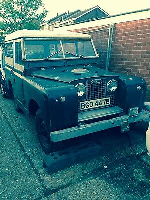 1964 land rover series 2a project
