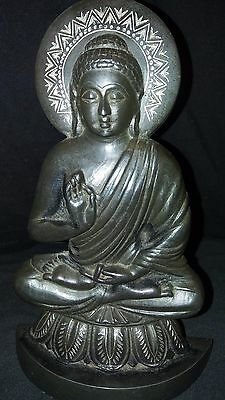 Antique-buddha Vintage-brass-statue-sculpture-home-decor Antique