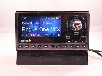 Activated Sirius Sportster 5 Satellite Radio receiver only