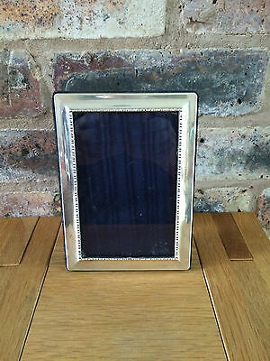 Beautiful Sterling Silver 1998 Photo Frame by Carr's of Sheffield