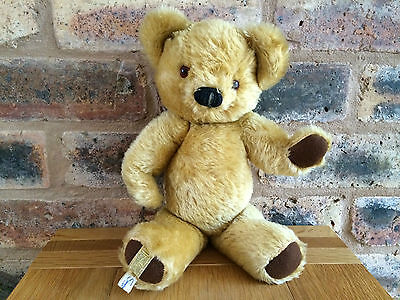 "Beautiful & Cute 1957 Merrythought 13"" Golden Mohair Teddy Bear"