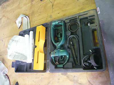 Wood Working Mortising Attachment Set W/2 Chisels For Drill Press Machine