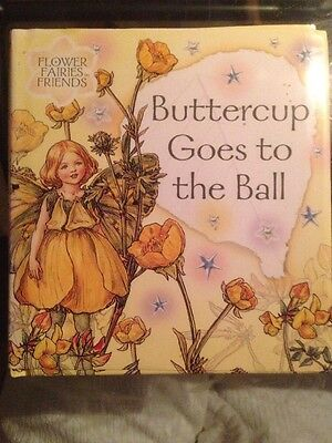 """Flower Fairies Friends Book """"Butterfly Goes to the Ball"""" Cicely Mary Barker"""