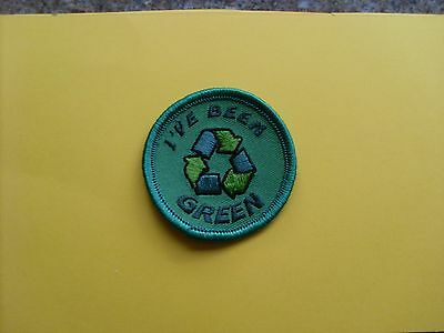 Ive Been Green badge suitable for girl guiding or collectors