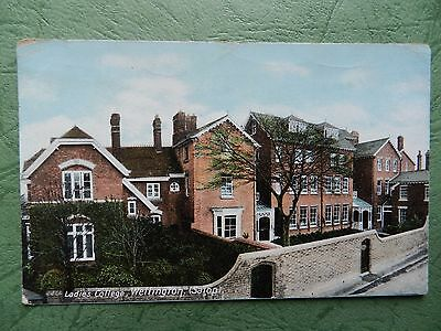 Vintage Postcard - Wellington ( Salop ) Ladies College , Shropshire