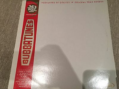"Bubbatunes - This Is Just A Dance 12"" vinyl rare OOP Near Mint mo wax DJ Shadow"