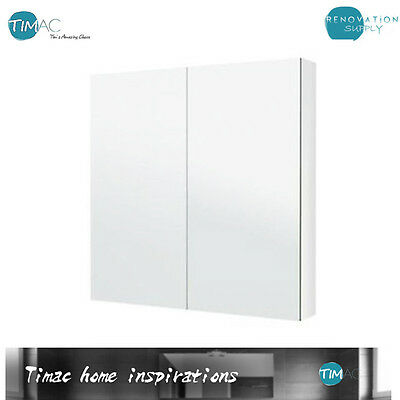 H720 x W900  Pencil edge mirror cabinet BATHROOM VANITY MIRROR SHAVING CABINET
