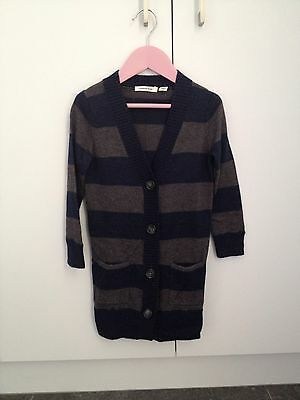 Country Road Girls Long Cardigan Jumper Size 3 NWOT