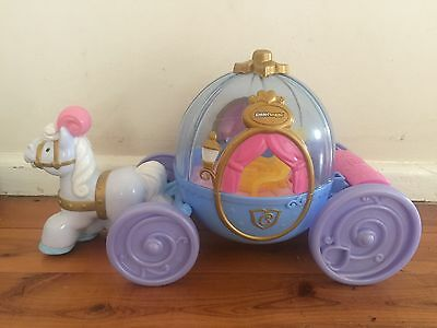 Fisher Price Little People Disney Cinderella's Coach