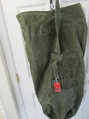 Vietnam War 1973 Us Army/marine Canvas Dufle Bag - Stencil Marked - Named