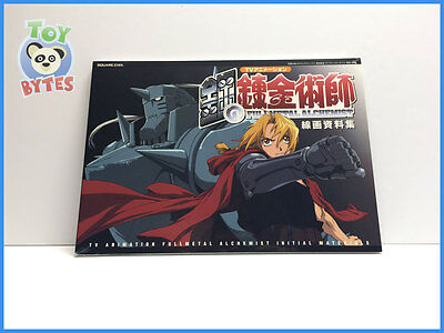 Fullmetal Alchemist Art Character Design Figure Drawing Layout Book Square Enix