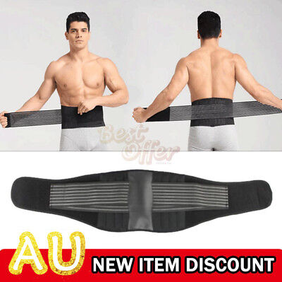 2017 Lumbar & Lower Back Support Belt Brace Strap Pain Relief Posture Corrector