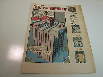 The Spirit by Will Eisner - June 26, 1949 - Tab-Sized!