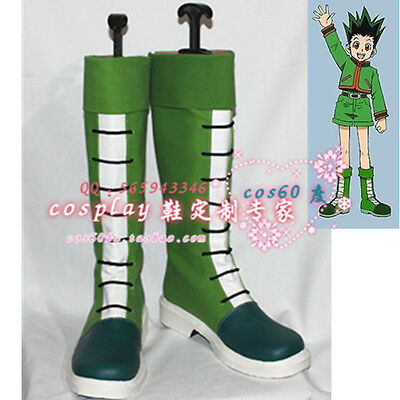 Hunter x Hunter Gon Green Cosplay Shoes Boots