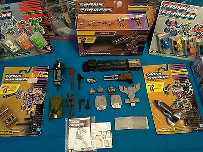 Transformers SPANISH GOLD BOX G1  BRUTICUS GOLD BOX CAJAS ORO