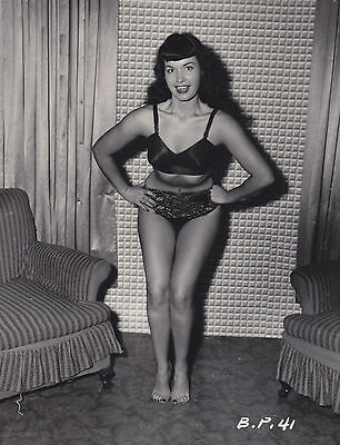 Bettie Page Classic Beauty 8x10 Sexy Photo #8 Pin up