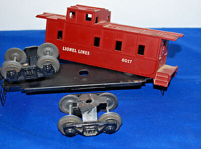 Lionel #6017 Caboose---Needs Assembly & Parts?