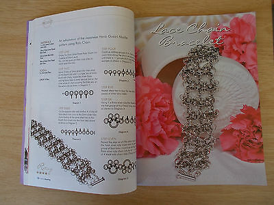 Creative Beading Vol 8 #6~51 Projects~Jewellery~Lace Chain~Mona Lisa~Necklaces
